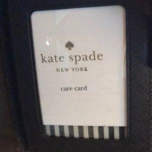 kate spade Bags - Kate Spade credit card wallet. Black. NWT